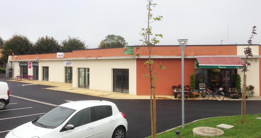 Les Tourelles promotion zone commerciale Poitiers