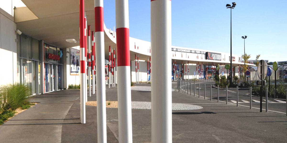 Auchan Sud Poitiers projet immobilier