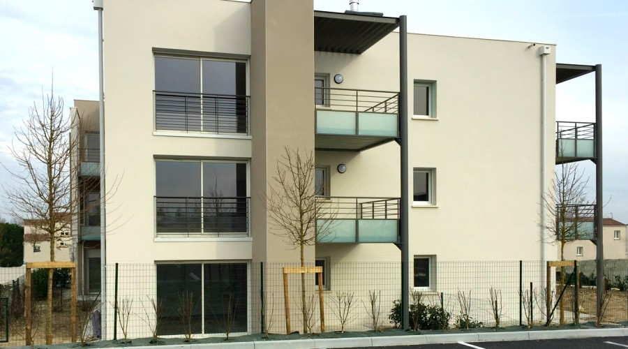 Programme HLM immobilier Saintes Arena
