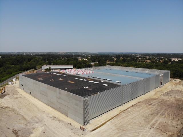 Construction d'une plate-forme logistique à Poitiers