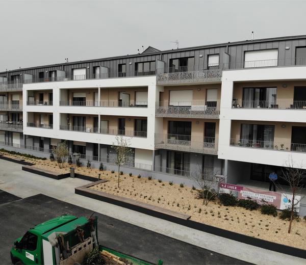 Livraison projet immobilier Nantes